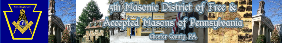 5th Masonic District of PA